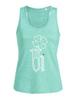 Tank Top #happyglass - minty fresh