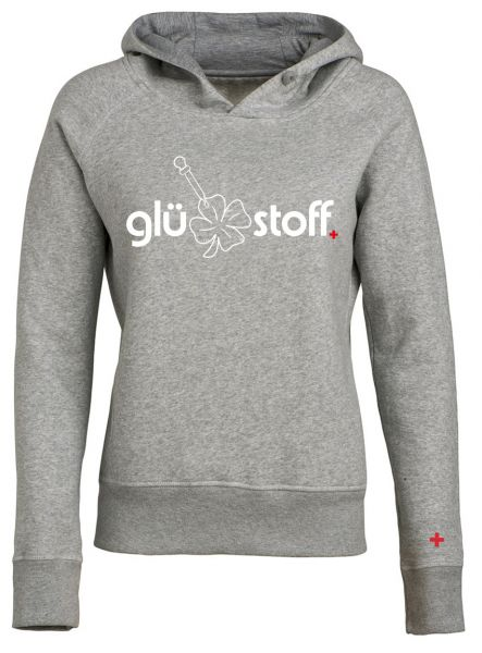 Hoodie #happystoff - shades of grey
