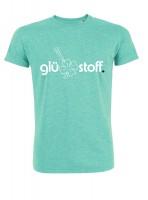Shirt #happystoff - minty fresh