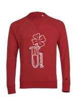 Sweater #happyglass - rockin red