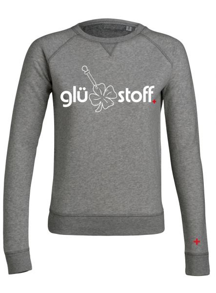 Sweater #happystoff - shades of grey