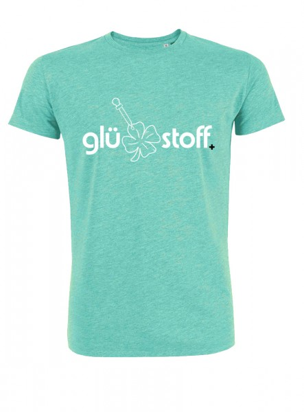 Shirt #happystoff - minty fresh