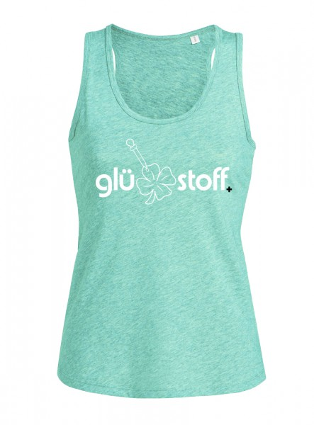 Tank Top - #happystoff - minty fresh