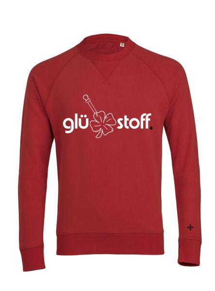 Sweater #happystoff - rockin red